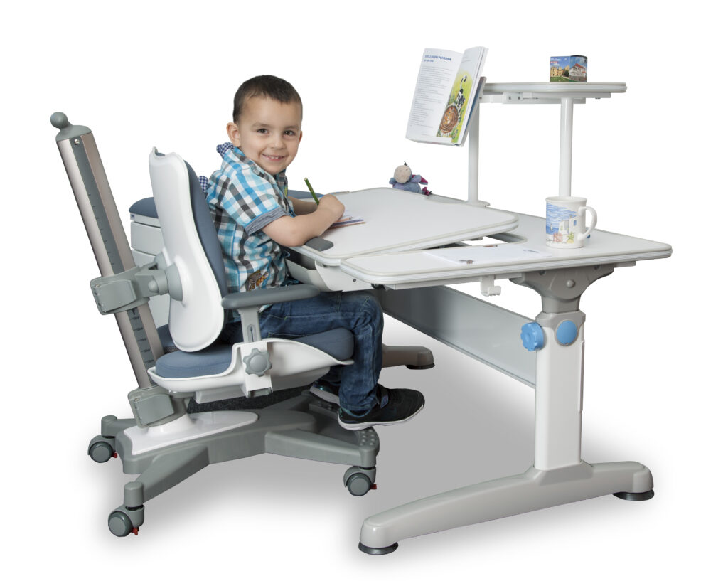 Zestaw biurko regulowane i krzesło do biurka dla dziecka Kids Mayer